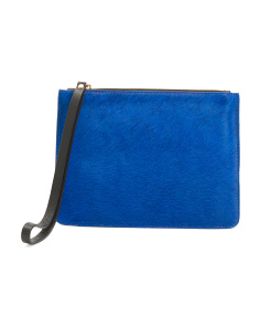 Made In Italy Leather Pochette