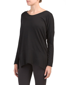 V-neck Baby Terry Tunic