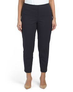 Plus Tummy Control Super Stretch Ankle Pants