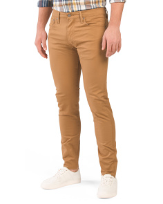 512 Slim Taper Fit Stretch Twill Pants