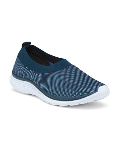 Wide Knit Comfort Walking Shoes