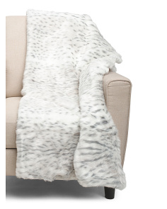 Vince Faux Fur Throw