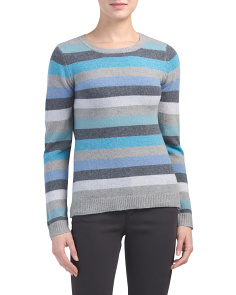Striped Extrafine Merino Wool Sweater