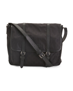 Made In Italy Monogram Messenger Bag