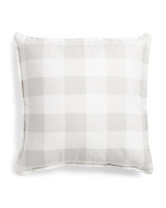 Made In Usa 24x24 Anderson Plaid Pillow