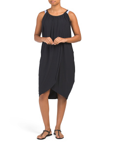 Made In Usa Draped Cover-up