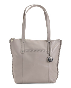 Lido Textured Leather Tote