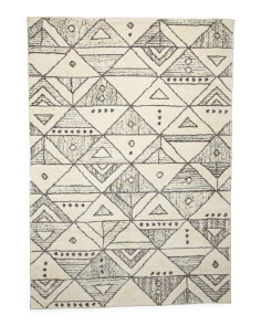 5x7 Lima Contemporary Shag Rug