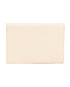 Leather Business Chic Passport Cover
