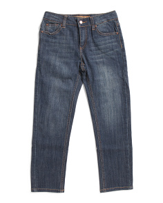 Big Boys Straight Leg Denim Pants