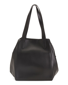 Leather Downtown Rfid Charlize Tote