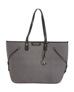 Laptop Two Tone Tote