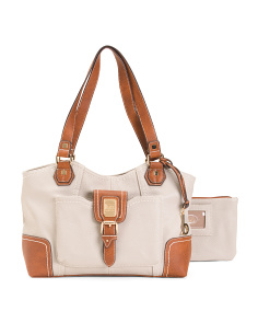Walter Mill  Tote With Removable Wristlet