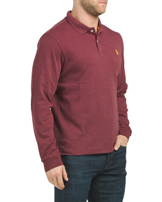 Interlock Heather Classic Polo