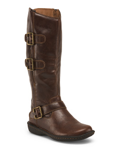Buckle High Shaft Boots