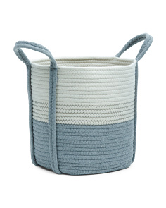 Small Cotton Rope Storage Basket