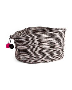 Large Tapered Rope Storage Basket