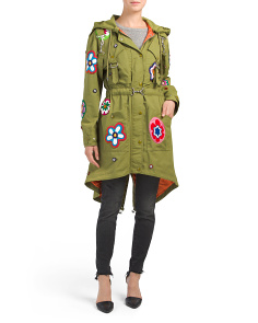 Made In Italy Embroidered Parka