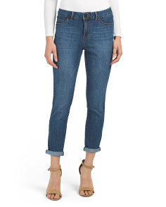 Petite Rolled Cropped Jeans