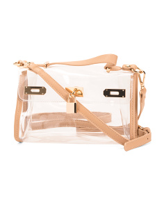 Transparent Crossbody Satchel