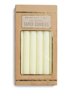 6pk Taper Candles