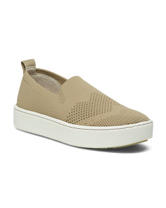 Knit Comfort Slip On Sneakers