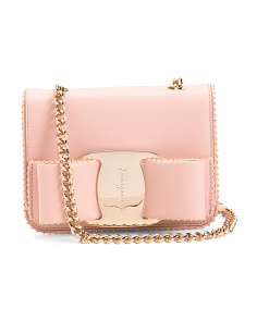 Made In Italy Mini Vara Bow Leather Crossbody