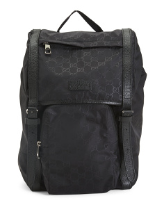 Made In Italy Logo Backpack