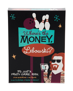 Where's The Money Lebowski Board Game