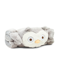 Owl Plush Sleeping Bag