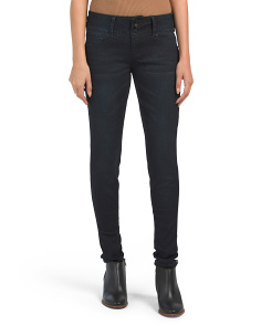 3 Button Tummy Tuck Skinny Jeans