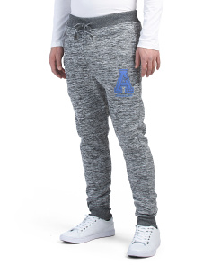 Fleece Joggers With Applique