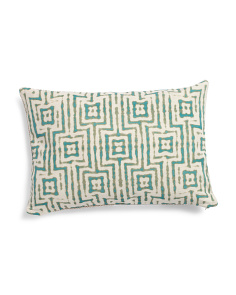 Made In India 14x20 Gate Pattern Pillow