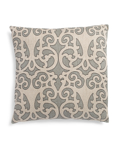 Made In India 22x22 Linen Pillow
