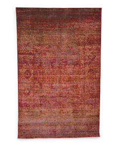 Made In Turkey Mystique Rust  Area Rug
