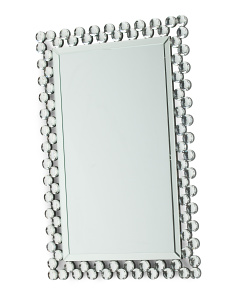 Rectangular Bling Mirror