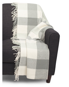 Made In Ireland Lambswool Throw
