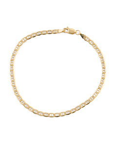 Men's Made In Italy 14k Gold Portofino Bracelet