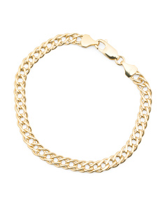 Made In Italy 14k Gold Grande Marquise Bracelet