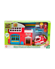 Fire Station Citi Hero Playset