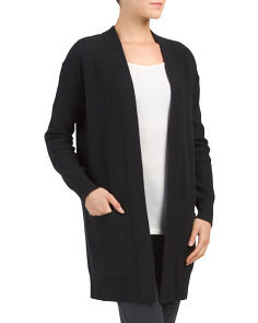 Cashmere Blend Robe Cardigan