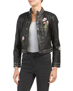 Kinu Moto Leather Jacket