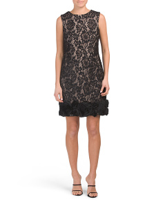 Sleeveless Lace Dress