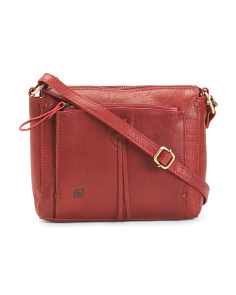 Mateo Organizer Leather Crossbody