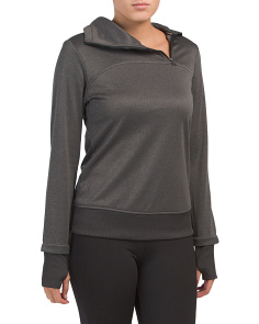 Warm Up Funnel Neck Sweatshirt
