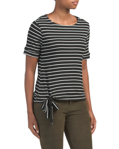 Made In Usa Retro Stripe Top