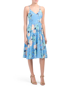 Moonlight Floral Dress