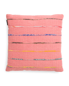 Made In India 20x20 Chindi Rug Pillow