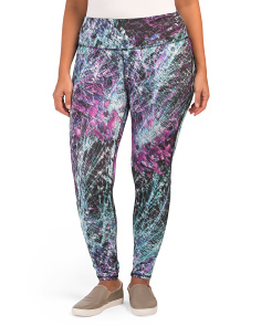 Plus Active Printed Leggings