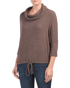 Made In Usa Cozy Cowl Neck Dolman Top